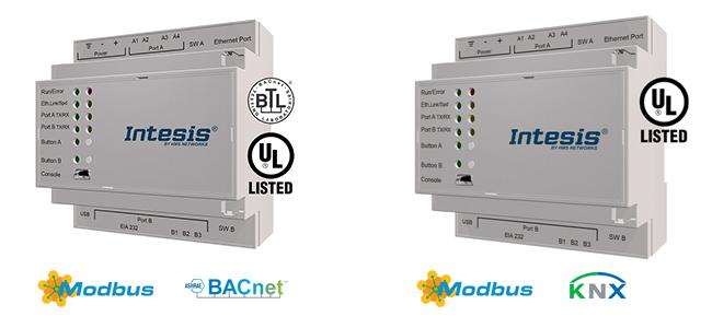 Gateways building automation bacnet - modbus, knx - modbus