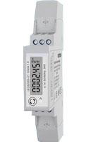 Medidor electrico mono fase para carril DIN