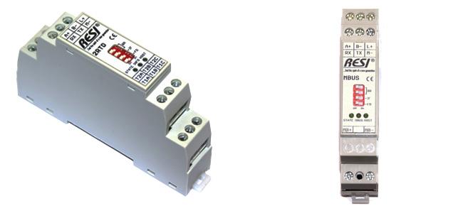 Modulos para medicion de Temperatura con sondas PT100 - PT1000