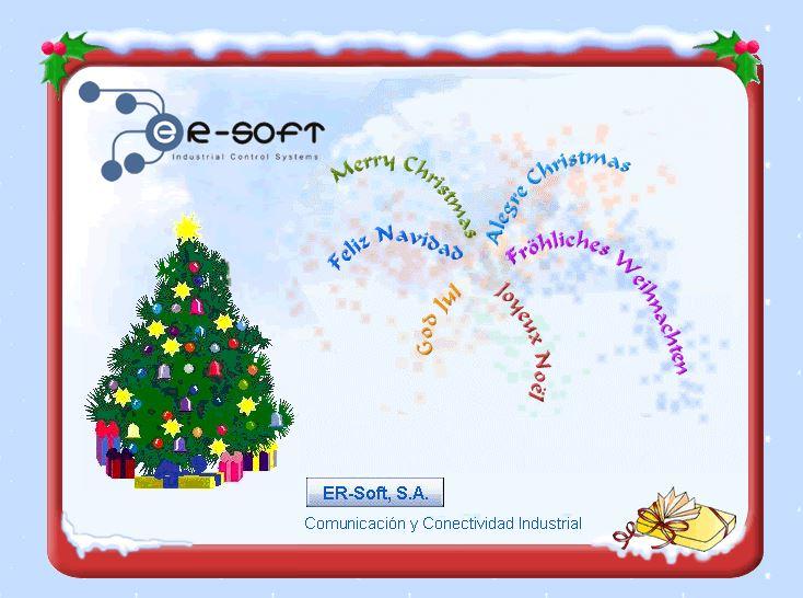 Les deseamos una feliz navidad y un prospero año nuevo