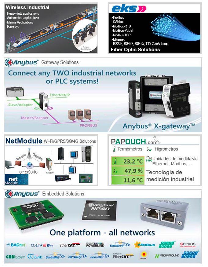 Todo en comunicación y conectividad industrial