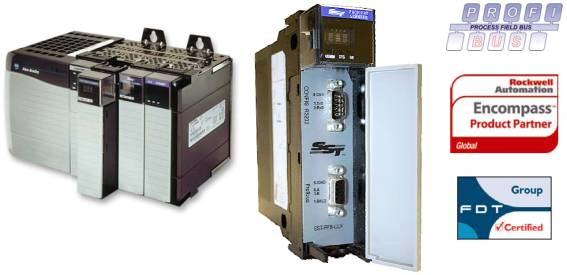 Tarjeta PROFIBUS DP Master/Slave para PLC Controllogix de Rockwell Automation