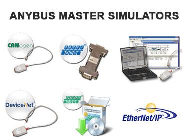 Anybus Master Simulator para Fieldbus / Buses de Campo, herramienta util para hacer pruebas con dispositivos...