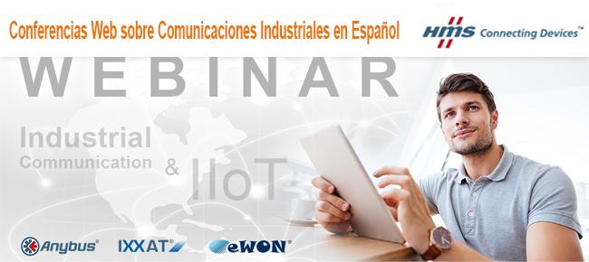 Invitacion a Webinarios sobre Comunicacion Industrial