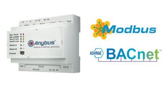 Comunica dispositivos Modbus TCP y/o RTU con redes BACnet IP y/o MS/TP