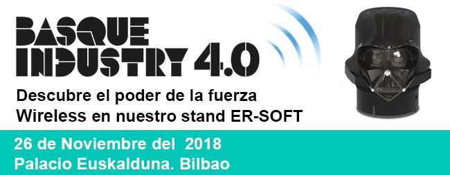 Invitación gratuita al Basque Industry 4.0 y ¡gracias por visitarnos en Matelec 2018!