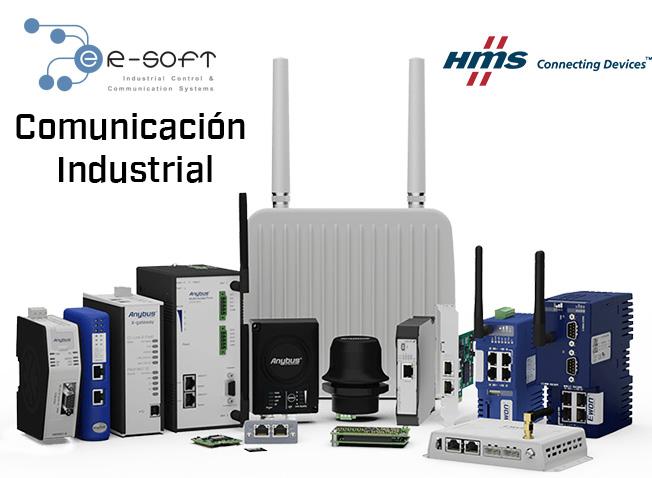 HMS: Anybus, Ixxat, Ewon: Productos de Calidad para Comunicacion Industrial, Wireless, Edificios, Supervisión y Control Remoto