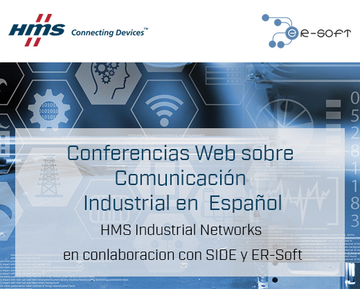 INVITAMOS a Conferencia Web sobre COMUNICACION INDUSTRIAL, idioma Español