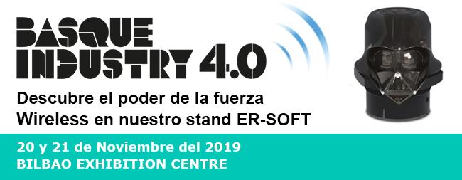 Te invitamos al evento Basque Industry 4.0 el 20 y 21 de Noviembre del 2019
