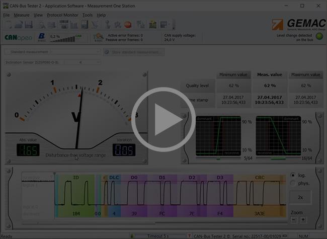 Ver el video del CAN Bus tester 2