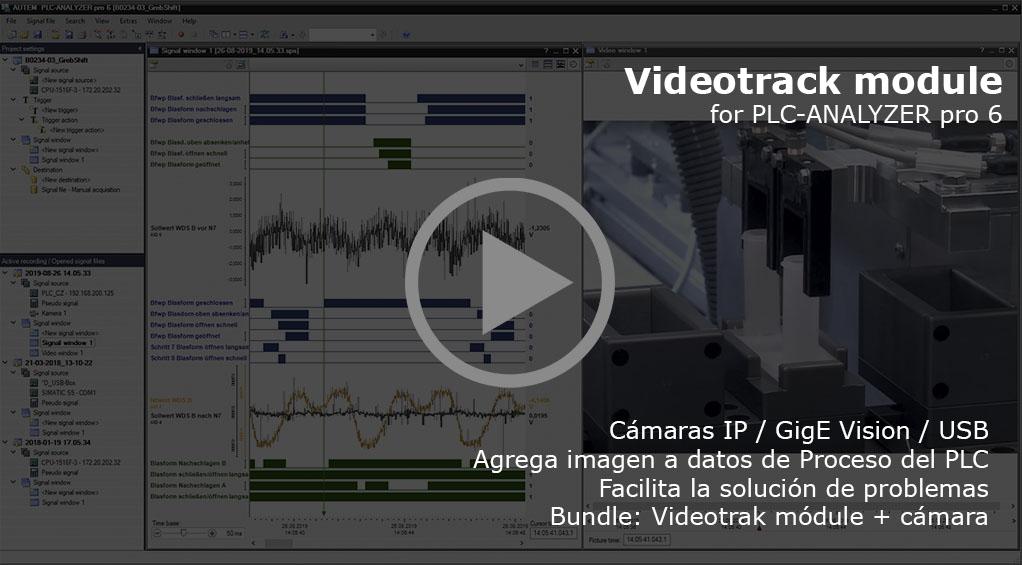 Videotrack para PLC-ANALYZER pro 6
