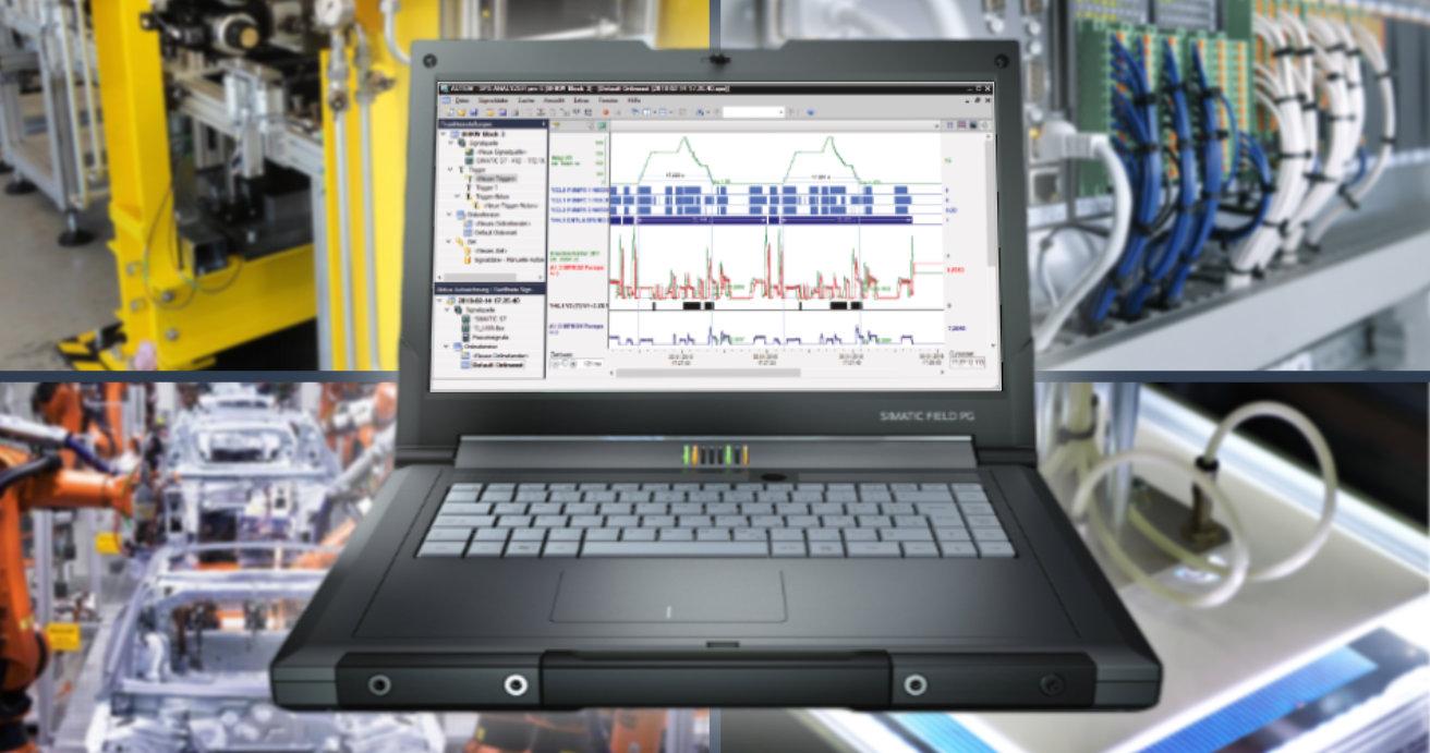 PLC-ANALYZER pro 6 soporta varios Drivers para comunicar con los PLCs.