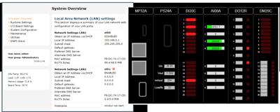 Web server Incluido en el RTU32M, HTML5, configuración y visualización