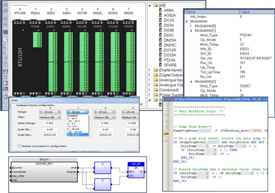 RTU32M Worksuite, Herramienta de configuración