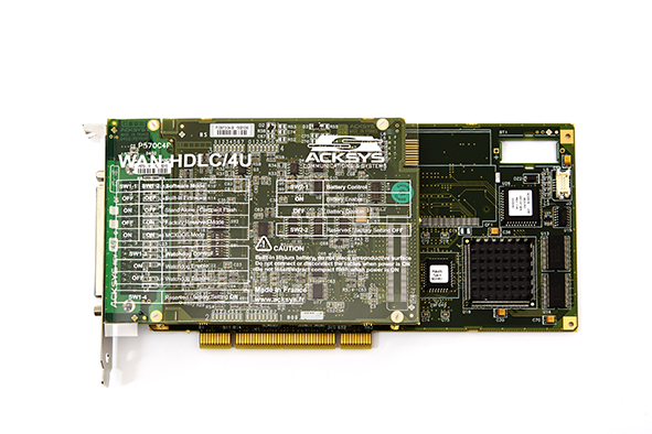 WAN-HDLC range 4-port HDLC communication board