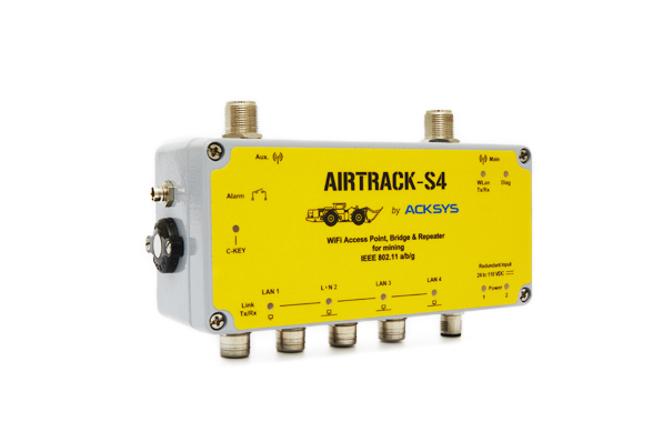 AIRTRACK-S4 WiFi access point, client & repeater
