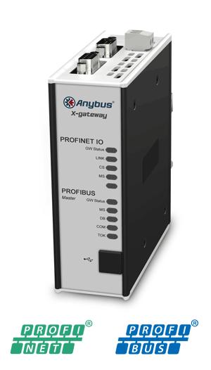Anybus X-gateway – PROFIBUS Master – PROFINET-IO Device