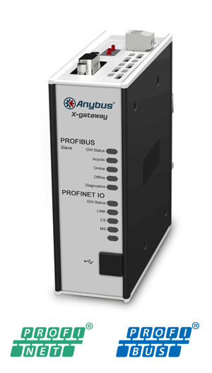 Anybus X-gateway – PROFIBUS Slave – PROFINET-IO Device