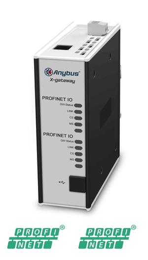 Anybus X-gateway – PROFINET-IO Device – PROFINET-IO Device