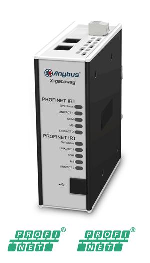 Anybus X-gateway – PROFINET-IRT Device – PROFINET-IRT Device