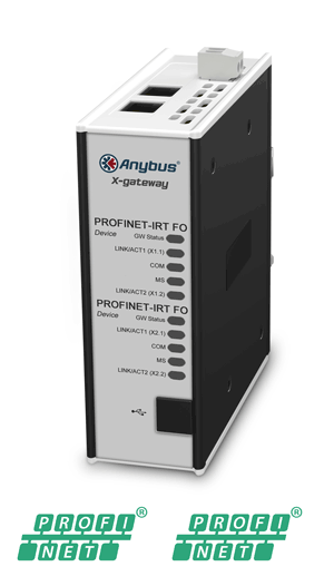 Anybus X-gateway – PROFINET-IRT FO Device - PROFINET-IRT FO Device