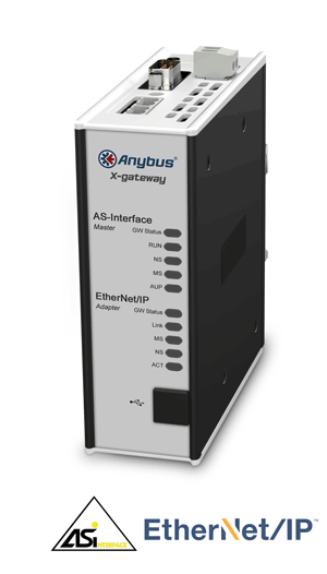 Anybus X-gateway - AS-Interface Master - EtherNet/IP Adapter