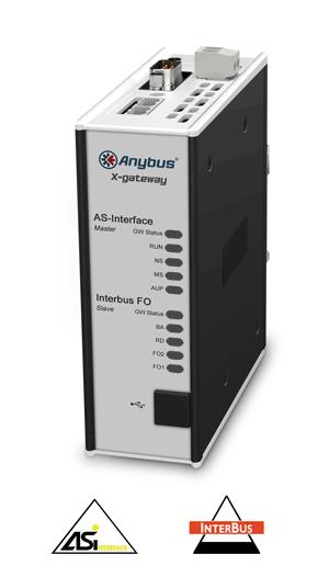 Anybus X-gateway - AS-Interface Master - Interbus F.Optic Slave