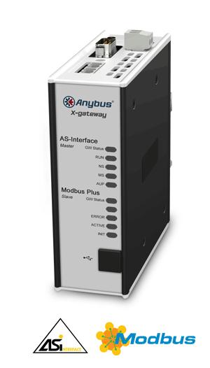 Anybus X-gateway - AS-Interface Master - Modbus Plus Slave
