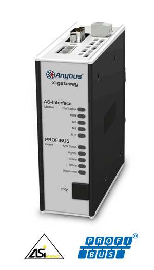 Anybus X-gateway - AS-Interface Master - PROFIBUS Slave