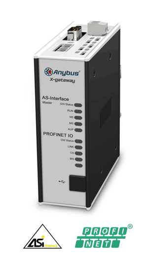 Anybus X-gateway - AS-Interface Master - PROFINET-IO Device