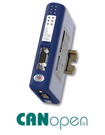 Anybus Communicator CAN - CANopen