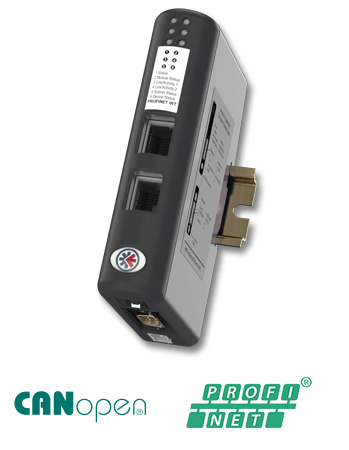 Anybus X-gateway – CANopen Master – PROFINET-IRT Device