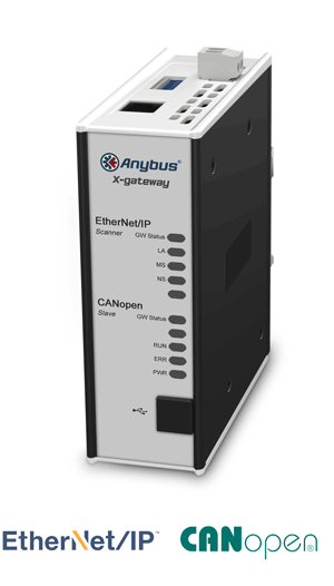 Anybus X-gateway – EtherNet/IP Scanner - CANopen Slave