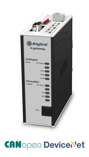 Anybus X-gateway - CANopen Slave - DeviceNet Adapter