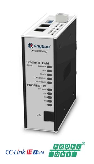 Anybus X-gateway – CC-Link IE Field Slave - PROFINET-IO Device