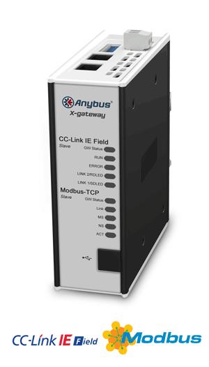 Anybus X-gateway – CC-Link IE Field Slave - Modbus TCP Server