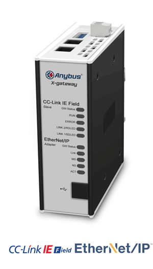 Anybus X-gateway – CC-Link IE Field Slave - EtherNet/IP Adapter