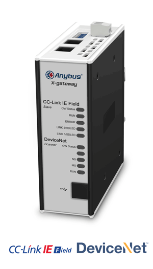 Anybus X-gateway – DeviceNet Scanner - CC-Link IE Field Slave