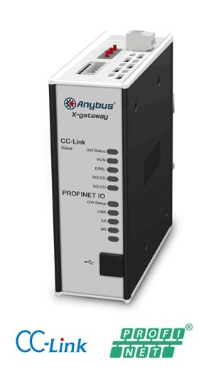 Anybus X-gateway – CC-Link Slave - PROFINET-IO Device