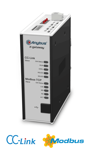 Anybus X-gateway – CC-Link Slave - Modbus TCP Server