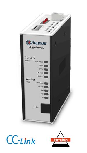 Anybus X-gateway – CC-Link Slave - Interbus CU Slave