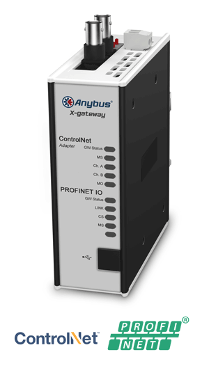 Anybus X-gateway – ControlNet Adapter - PROFINET-IO Device