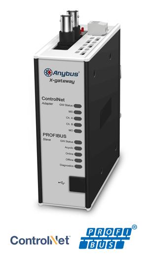 Anybus X-gateway – ControlNet Adapter - PROFIBUS Slave