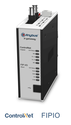 Anybus X-gateway – ControlNet Adapter - FIPIO Slave