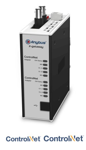 Anybus X-gateway – ControlNet Adapter - ControlNet Adapter