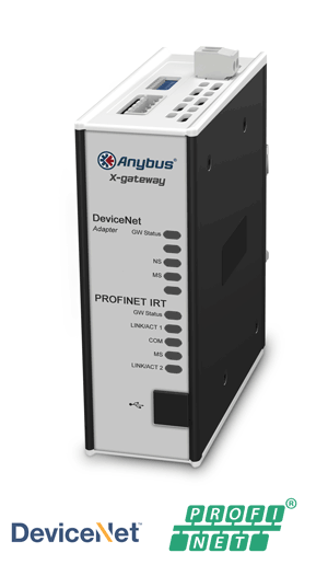 Anybus X-gateway – DeviceNet Adapter - PROFINET-IRT Device