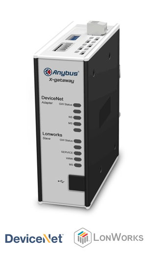 Anybus X-gateway – DeviceNet Adapter - Lonworks Slave
