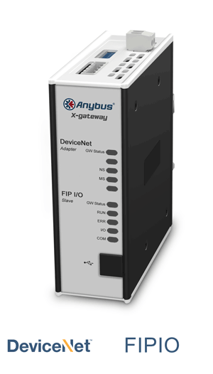 Anybus X-gateway – DeviceNet Adapter - FIPIO Slave