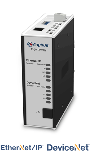 Anybus X-gateway – EtherNet/IP Scanner - DeviceNet Adapter