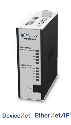 Anybus X-gateway – DeviceNet Adapter - EtherNet/IP Adapter